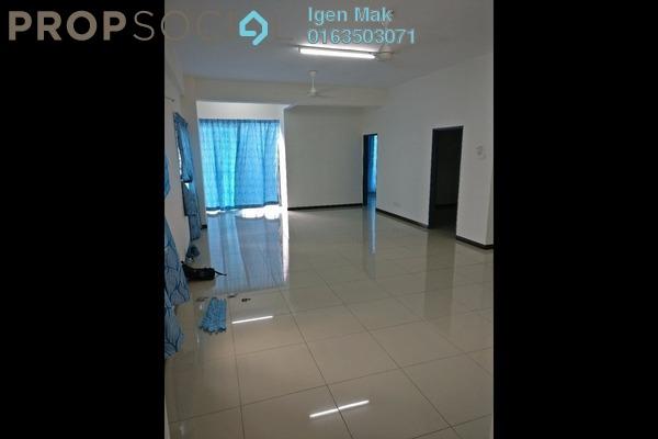 For Rent Condominium at Mahkota Garden Condominium, Bandar Mahkota Cheras Freehold Semi Furnished 3R/2B 1.4k