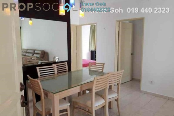 For Rent Condominium at Coastal Towers, Tanjung Bungah Freehold Fully Furnished 3R/2B 1.8k