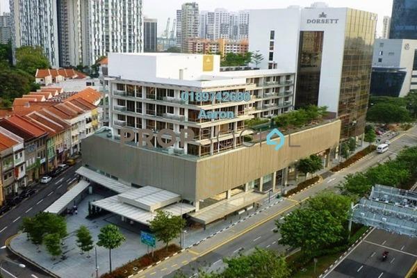 For Rent Condominium at Dorsett Residences, Bukit Bintang Freehold Fully Furnished 1R/1B 3.78k