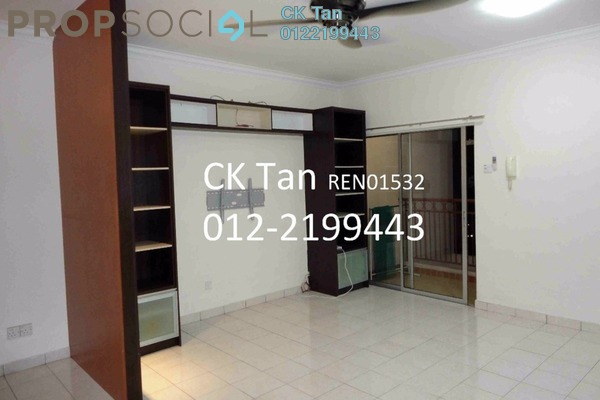For Sale Apartment at Bayu Puteri, Tropicana Freehold Semi Furnished 2R/2B 520k