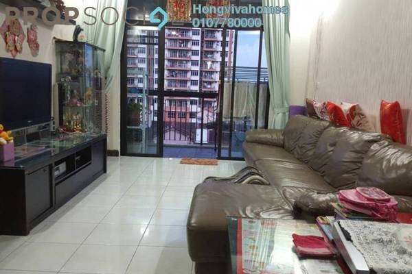 For Sale Serviced Residence at Diamond Residences, Setapak Freehold Semi Furnished 4R/3B 625k