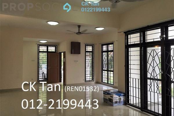 For Rent Semi-Detached at Precinct 15, Putrajaya Freehold Semi Furnished 4R/5B 3.2k