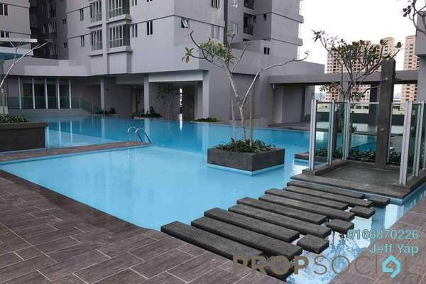 For Rent Condominium at Maxim Residences, Cheras Freehold Semi Furnished 1R/1B 1k