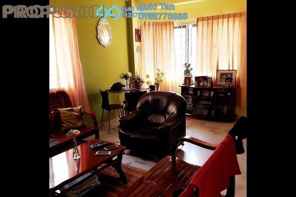 For Sale Apartment at Aman Puri, Kepong Freehold Semi Furnished 3R/2B 320k