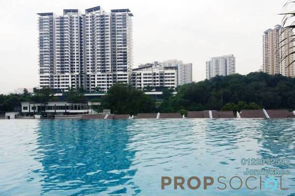 For Sale Condominium at Scenaria, Segambut Freehold Semi Furnished 3R/2B 650k