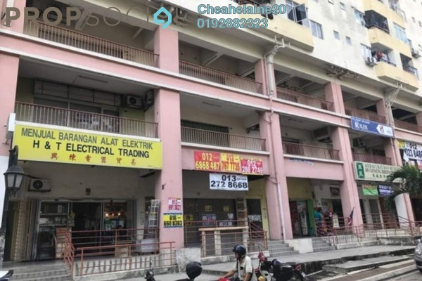 For Rent Shop at Plaza Sinar, Segambut Freehold Unfurnished 0R/2B 4.5k