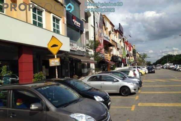 For Rent Shop at Laman Rimbunan, Kepong Freehold Semi Furnished 1R/2B 15k