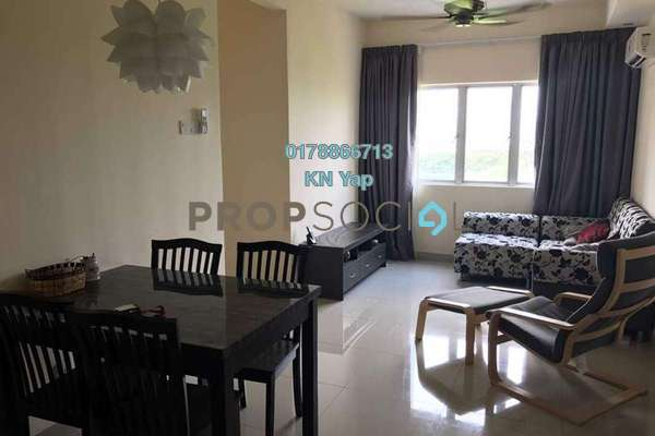 For Rent Condominium at Putra Suria Residence, Bandar Sri Permaisuri Freehold Fully Furnished 3R/2B 1.6k