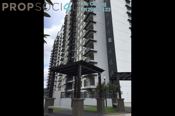 For Sale Condominium at Spring Avenue, Kuchai Lama Freehold Semi Furnished 3R/2B 590k