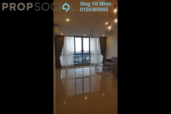 For Rent Condominium at KL Gateway, Bangsar South Freehold Fully Furnished 2R/2B 3.8k