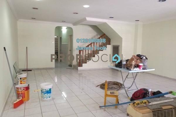 For Sale Terrace at Taman Bayu Perdana, Klang Freehold Semi Furnished 4R/3B 550k