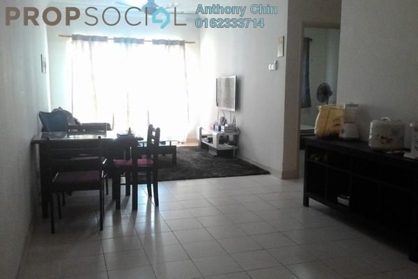 For Sale Apartment at Serdang Villa Apartment, Seri Kembangan Leasehold Fully Furnished 3R/2B 333k