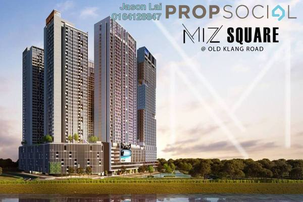 For Sale Condominium at Millerz Square, Old Klang Road Freehold Semi Furnished 3R/2B 680k