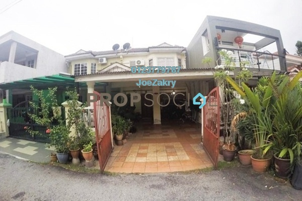 For Sale Terrace at Taman Bukit Indah, Ampang Freehold Unfurnished 4R/3B 560k