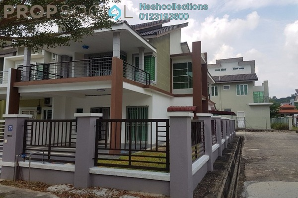 For Rent Terrace at Taman Nusari Aman, Bandar Sri Sendayan Freehold Semi Furnished 4R/3B 1.1k