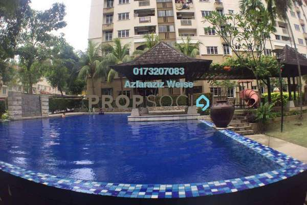 For Sale Condominium at Villa Pavilion, Seri Kembangan Freehold Semi Furnished 5R/3B 650k