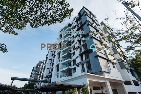 For Sale Condominium at Gardenview Residence, Cyberjaya Freehold Semi Furnished 5R/4B 999k