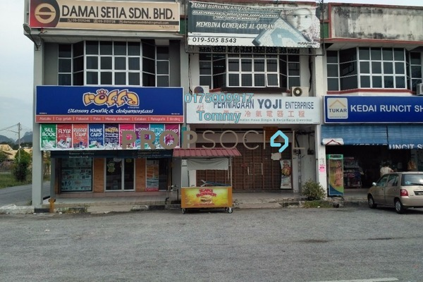 For Rent Shop at Pekan Razaki, Ipoh Freehold Unfurnished 0R/1B 1.5k