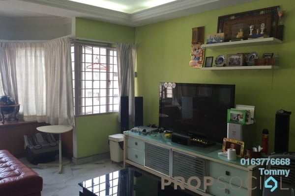 For Sale Condominium at De Tropicana, Kuchai Lama Freehold Semi Furnished 3R/2B 400k