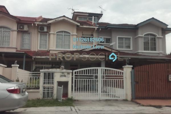 For Sale Terrace at Bandar Botanic, Klang Freehold Semi Furnished 4R/3B 609k