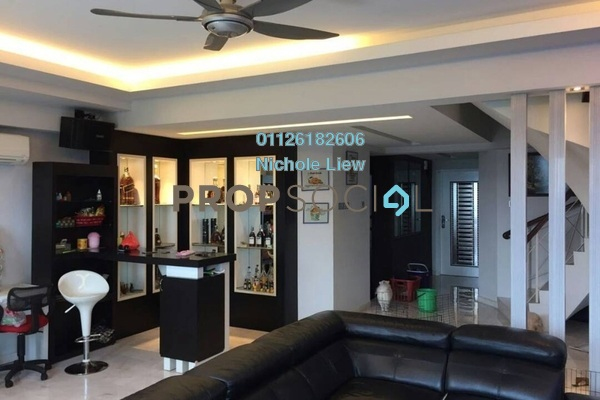 For Sale Duplex at Langat Jaya, Batu 9 Cheras Freehold Semi Furnished 4R/4B 578k