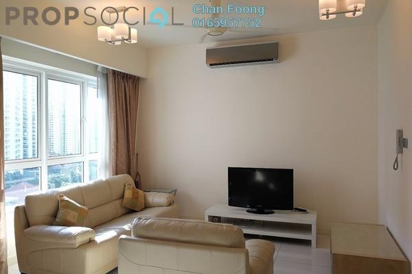 For Sale Condominium at Tiffani Kiara, Mont Kiara Freehold Fully Furnished 1R/2B 830k