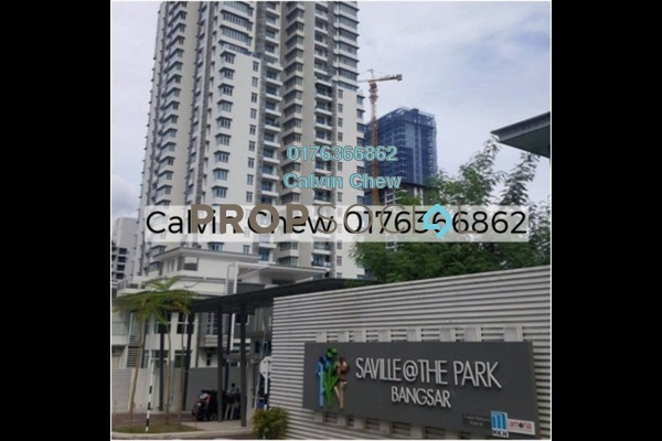 For Sale Condominium at Saville @ The Park, Pantai Freehold Unfurnished 3R/2B 543k