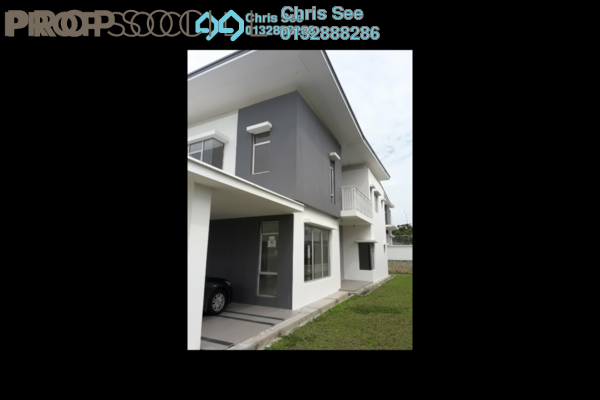 For Rent Semi-Detached at BSC Waterfront, Bandar Seri Coalfields Freehold Unfurnished 5R/5B 1.6k