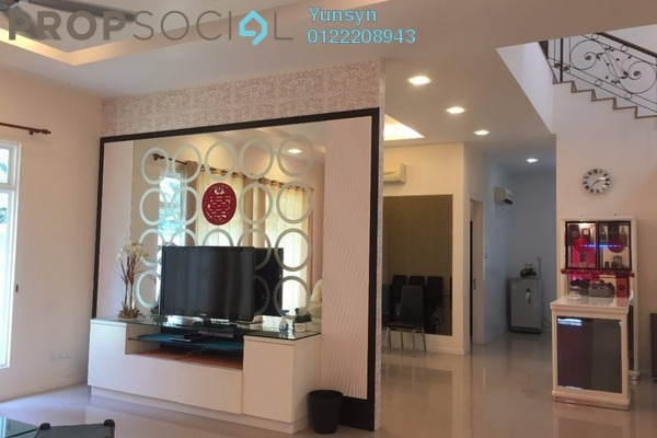 For Sale Semi-Detached at Villa Kristal Heights, Batu Caves Leasehold Fully Furnished 5R/5B 2.38m