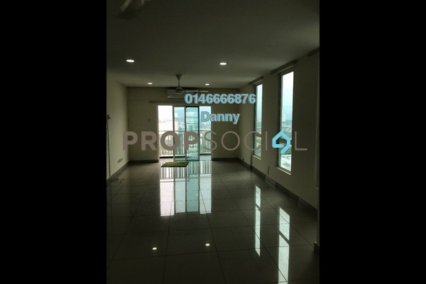 For Rent Condominium at The Loft @ ZetaPark, Setapak Freehold Semi Furnished 3R/2B 2.2k