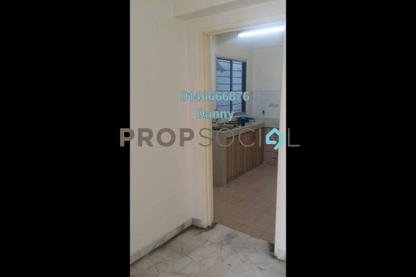 For Rent Condominium at Sri Pelangi, Setapak Freehold Unfurnished 3R/2B 1.2k