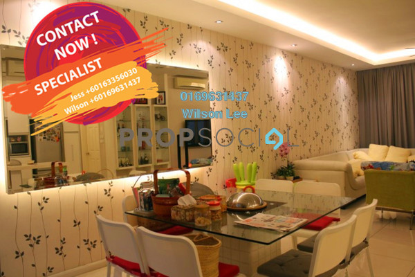 For Sale Terrace at Amelia, Desa ParkCity Freehold Semi Furnished 4R/6B 2.95m
