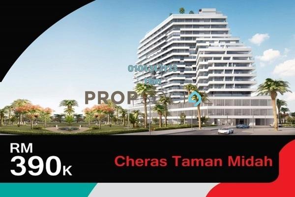 For Sale Duplex at Taman Midah, Cheras Leasehold Semi Furnished 3R/2B 390k