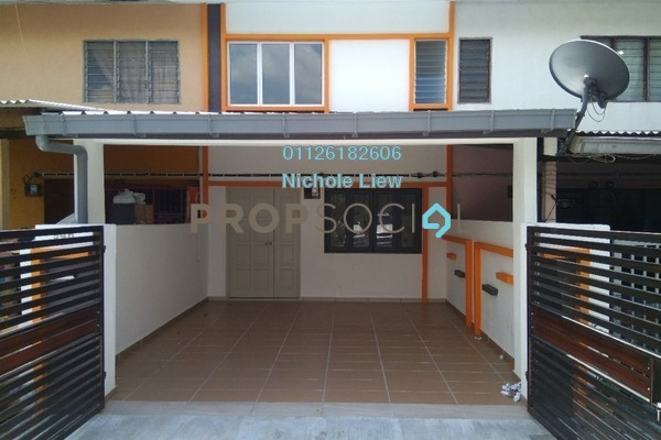 For Sale Link at Taman Jasmin, Kajang Freehold Semi Furnished 3R/3B 365k