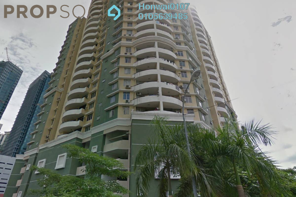 For Rent Condominium at Sri Impian, Brickfields Freehold Fully Furnished 4R/3B 2.8k