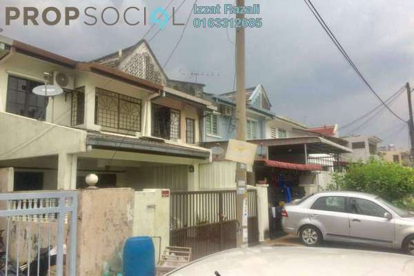 For Sale Terrace at Section 62, Bandar Menjalara Freehold Semi Furnished 3R/2B 565k