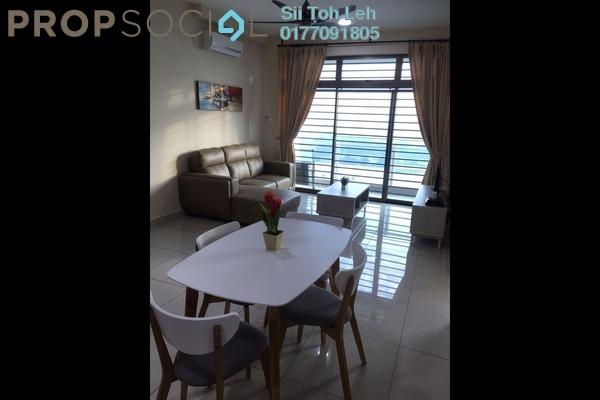 For Rent Apartment at Parc Regency, Johor Bahru Freehold Fully Furnished 2R/2B 1.3k