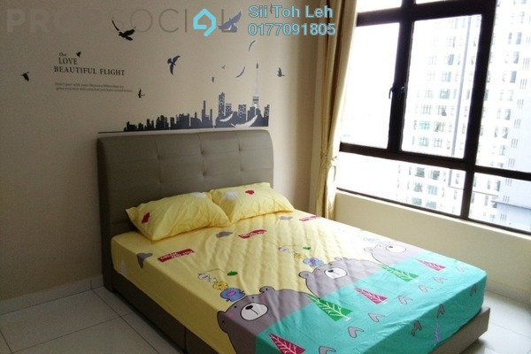 For Rent Apartment at D'Summit Residences, Skudai Freehold Fully Furnished 2R/2B 1.3k