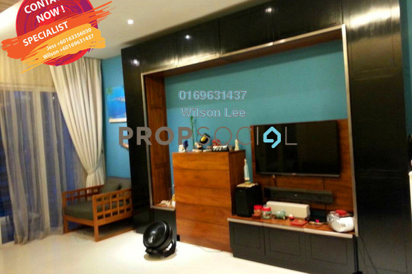 For Sale SoHo/Studio at The Northshore Gardens, Desa ParkCity Freehold Fully Furnished 1R/1B 830k