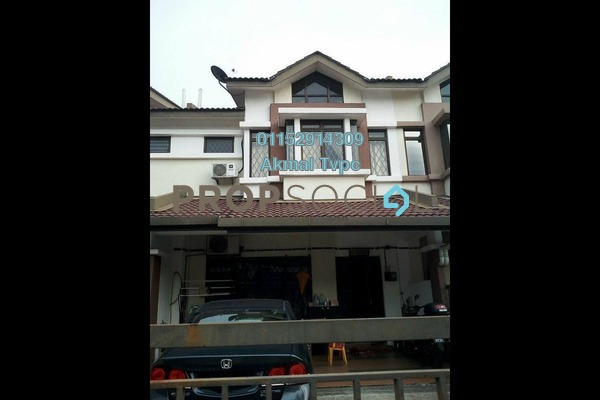 For Sale Terrace at Bandar Puteri Klang, Klang Freehold Semi Furnished 4R/3B 560k