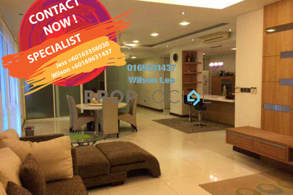 For Rent Condominium at The Northshore Gardens, Desa ParkCity Freehold Fully Furnished 3R/4B 7k