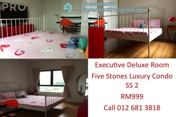For Rent Condominium at Five Stones, Petaling Jaya Freehold Fully Furnished 1R/1B 999translationmissing:en.pricing.unit
