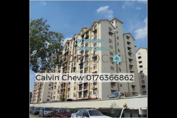 For Sale Apartment at Vista Lavender, Bandar Kinrara Freehold Unfurnished 3R/2B 198k