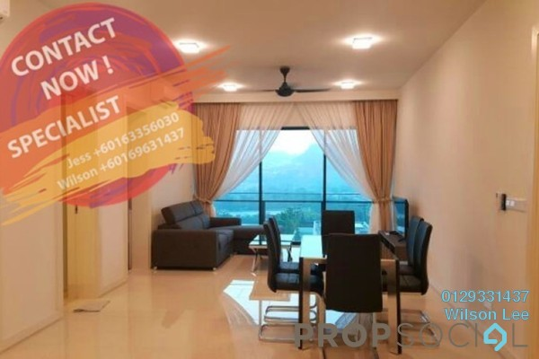 For Sale Condominium at One Central Park, Desa ParkCity Freehold Fully Furnished 3R/2B 1.55m