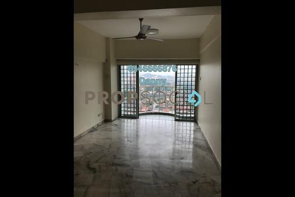 For Rent Condominium at Sri Pelangi, Setapak Freehold Unfurnished 3R/2B 1.2k