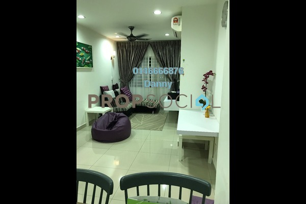 For Rent Condominium at Hedgeford 10 Residences, Wangsa Maju Freehold Fully Furnished 1R/1B 1.7k
