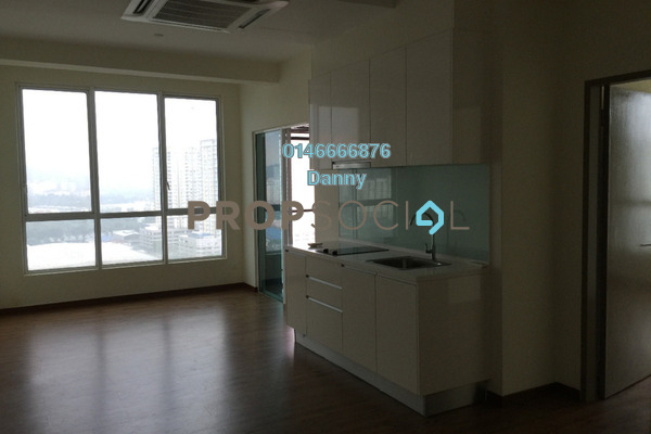 For Rent Condominium at ZetaPark, Setapak Freehold Semi Furnished 1R/1B 1.4k