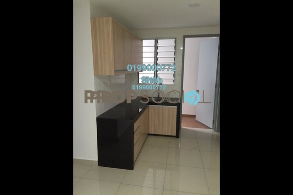 For Sale Condominium at Suasana Lumayan, Bandar Sri Permaisuri Leasehold Semi Furnished 4R/2B 475k