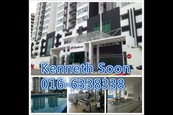 For Rent Condominium at 288 Residences, Kuchai Lama Freehold Fully Furnished 3R/2B 2.4k