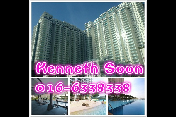 For Sale Condominium at Le Yuan Residence, Kuchai Lama Freehold Unfurnished 2R/2B 670k